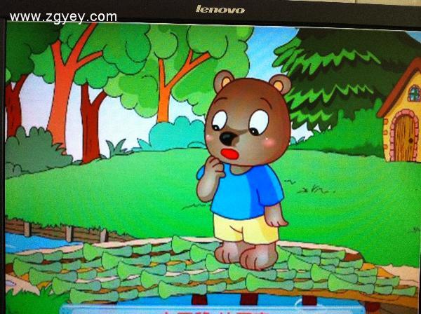 儿歌 小熊过桥 -安徽省来安县示范幼儿园 2013毕业五班 教学安排