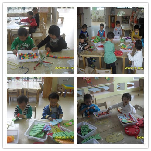 幼兒園小班生活區材料投放圖片