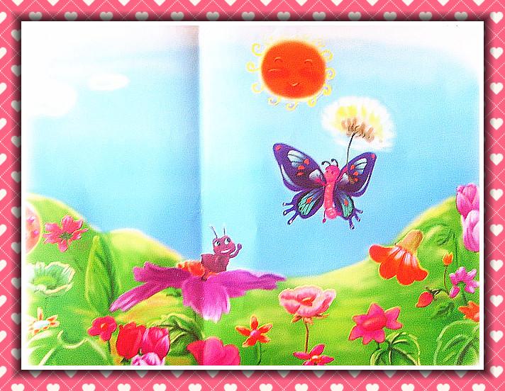 球虫:小兔子和蒲公英蚂蚁怎么知道有语言图片