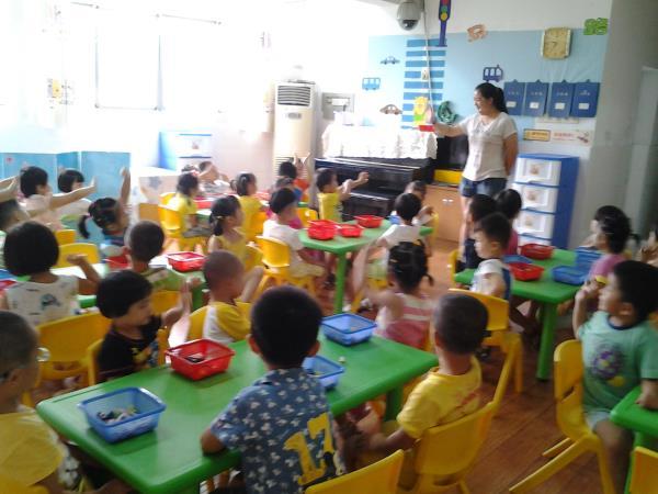 开学第二天-龙萍|幼儿园老师教学助手