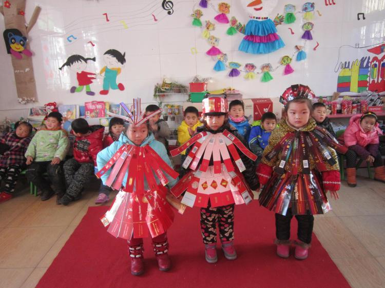 草莓2013新年时装秀-广东省体育局幼儿园