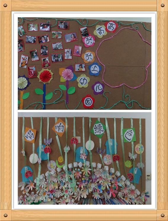 幼儿园班级主题墙饰创设观摩活动报道