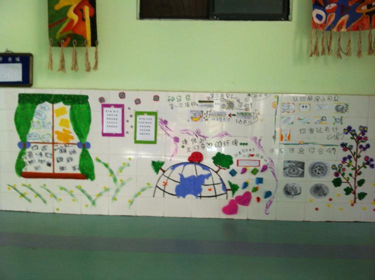 关南幼儿园主题墙设计大赛图片