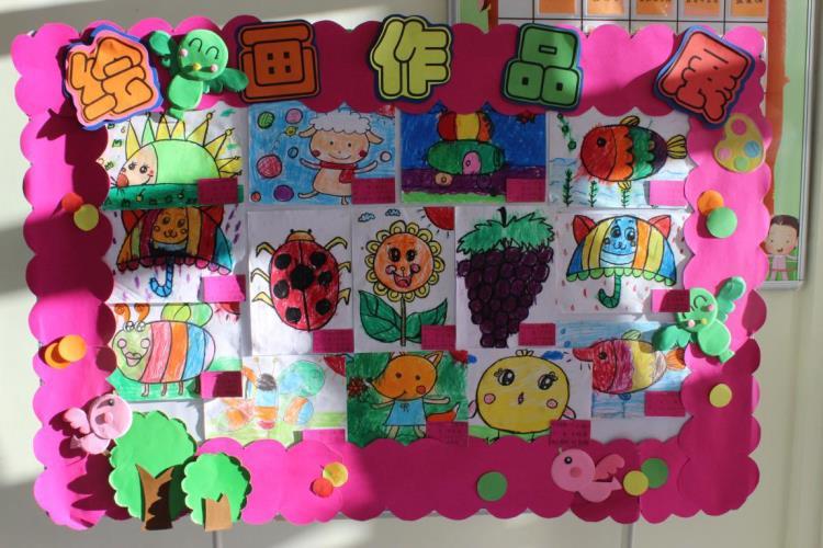 教育幼儿园开展幼儿美术作品展
