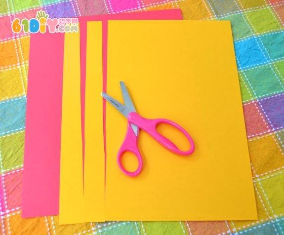 幼儿园春节手工——简易灯笼制作