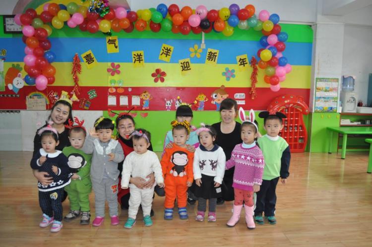 喜气洋洋迎新年-盘锦市立新幼儿园