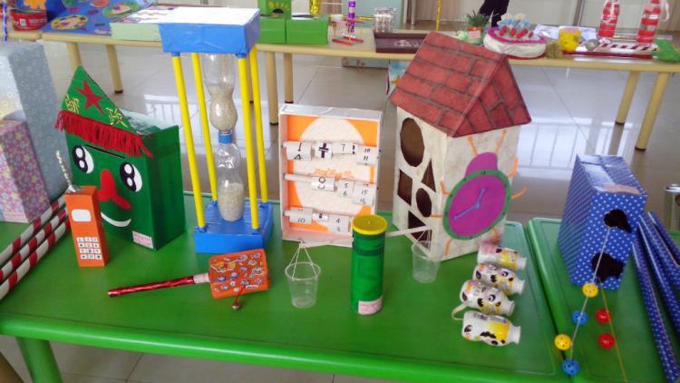 宝福娃幼儿园幼儿园开展教师自制教玩具活动