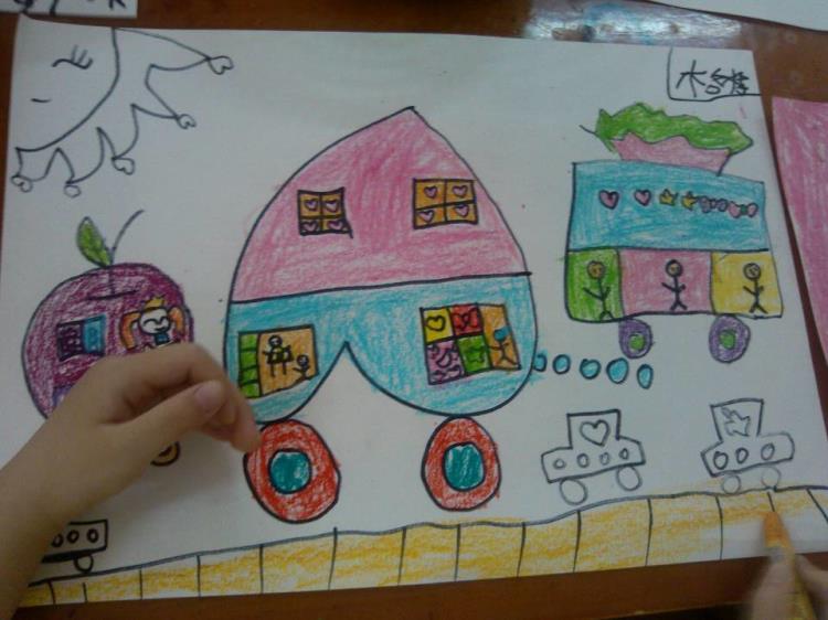 怪怪的汽车-岳麓幼儿教育集团第八幼儿园