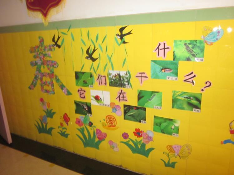 太原市风帆幼儿园主题墙设计大赛