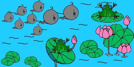 语言活动 小蝌蚪找妈妈