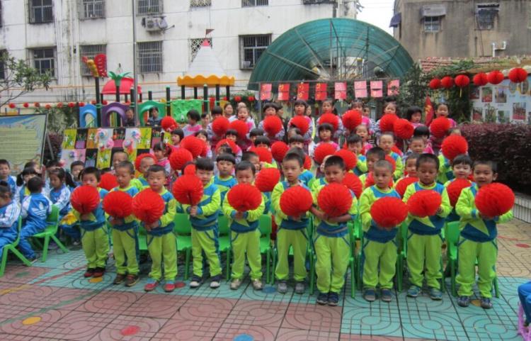 """粮食局幼儿园迎国庆""""第六届""""红歌会"""
