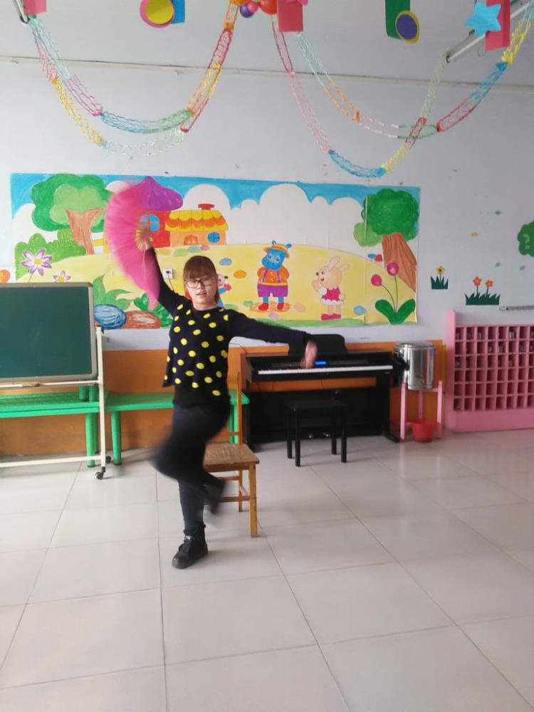 龙山幼儿园刘庄园教师基本功比赛