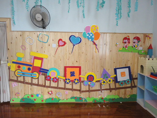北京大风车双语幼儿园诸城园主题墙分享