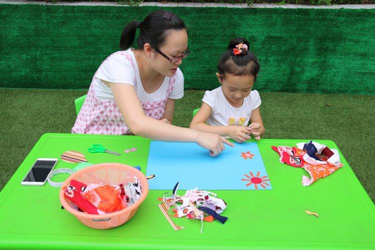 幼儿园运动会展板图片手工剪贴