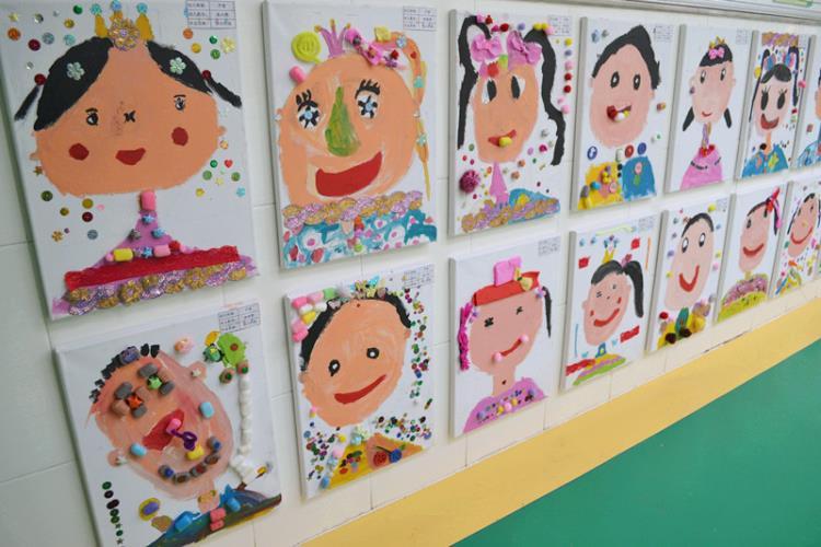 快乐 济南大地幼儿园六一创意美术大赛活动